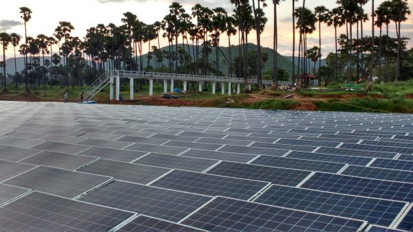 Delta Central Inverters Support India's Largest Floating Solar Project