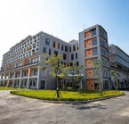 The Zhiyuan Building on National Chiao Tung University's Tainan Campus